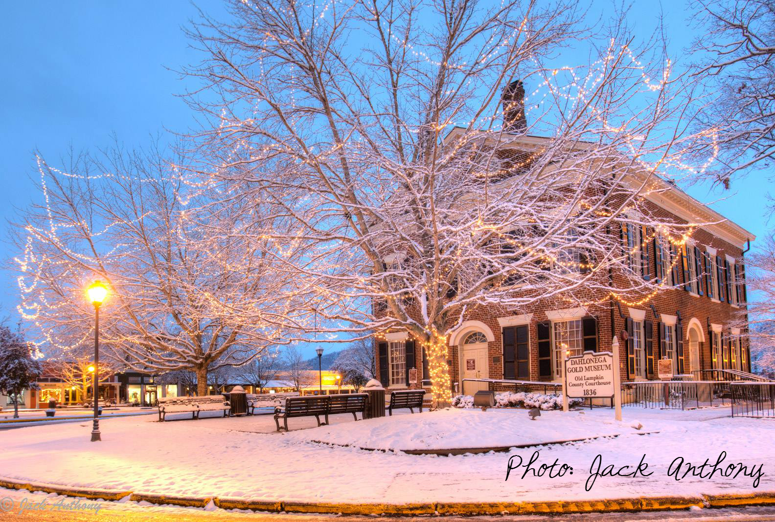 Dahlonega Ga Christmas.In December All Was Merry And Bright At Cranberry Corners