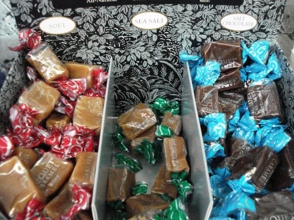 bequet caramel soft sea salt chocolate cranberry corners gift shop dahlonega ga