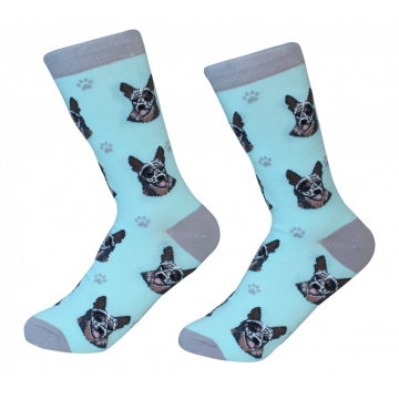 Australian Cattle Dog Socks cranberry corners gift shop dahlonega georgia