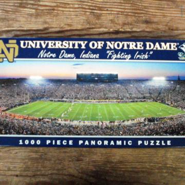 Buy Online Notre Dame Puzzle Cranberry Corners Gift Shop Dahlonega