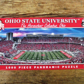 Buy Online Ohio State Puzzle Cranberry Corners Gift Shop Dahlonega