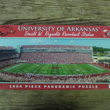 Buy Online Arkansas Razorbacks Puzzle Cranberry Corners Gift Shop Dahlonega