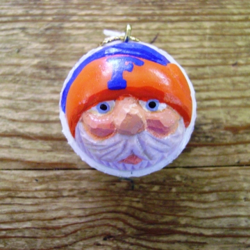 Florida Gators Christmas Golf Ball Santa