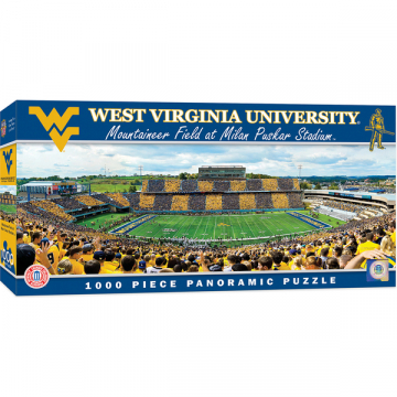 West Virginia Stadium Puzzle Cranberry Corners Gift Shop Dahlonega Georgia