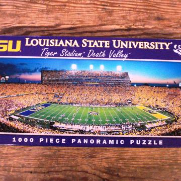 College Puzzle | Lousiana State University